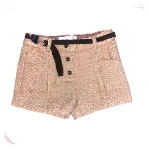 Zara Baby Girl tweed shorts size 18-24M